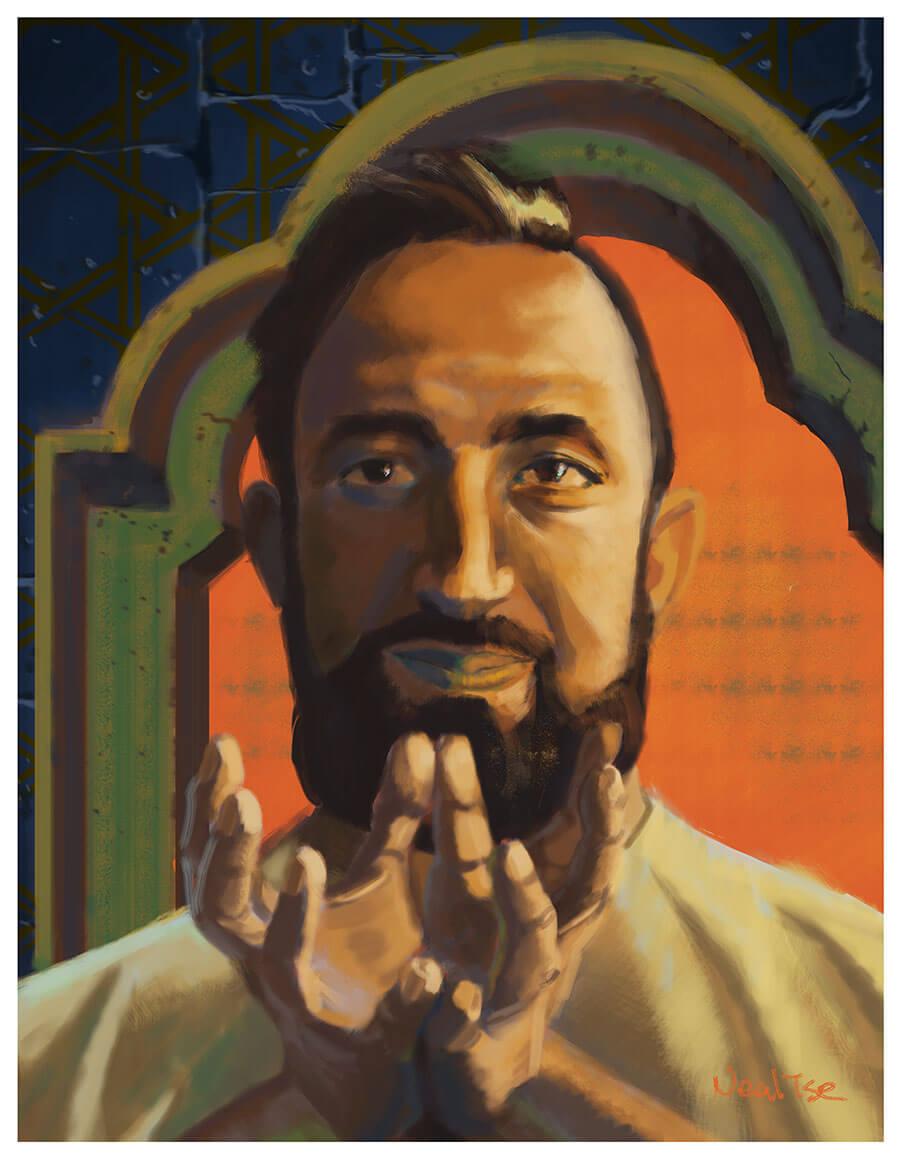 Lotus Mudra Portrait