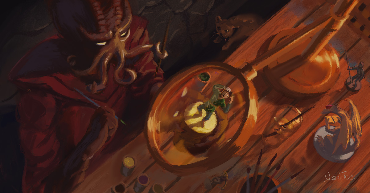 DND-mini-painting-banner-horizon-kingdoms-by-nealtset