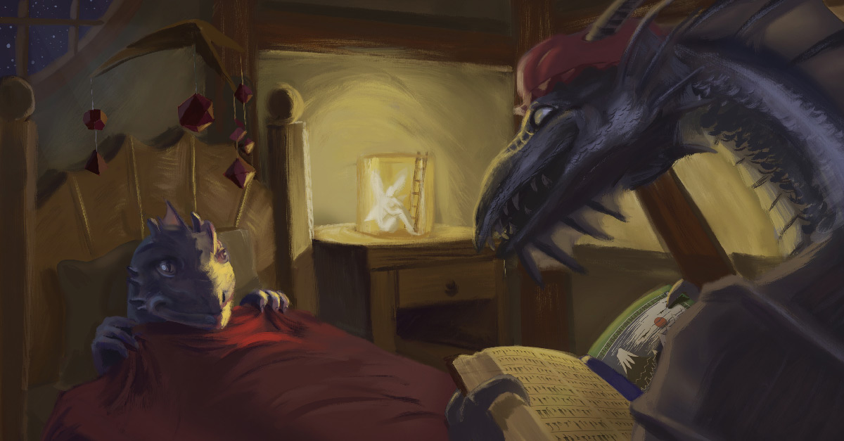 horizon-kingdoms-dnd-bedtime-stories-banner-by-nealtse